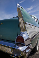 Old Chevy tail light detail