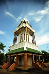 The Clock tower in Chonburi