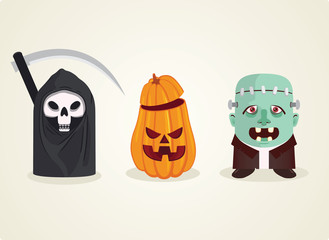 Hallowen - Monster set
