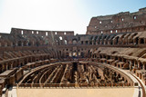 Colosseum inside. podium view