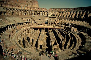 Colosseum inside. upper view