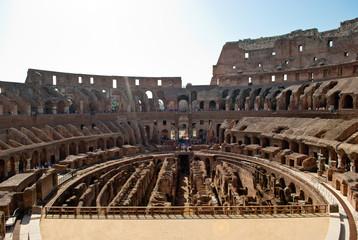 Colosseum inside. podium view