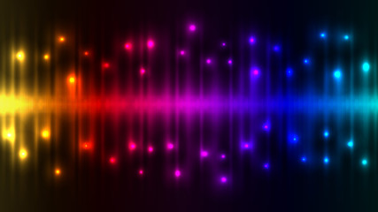 Abstract color lights background.