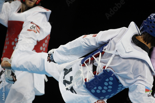 Foto op Canvas Vechtsport taekwondo