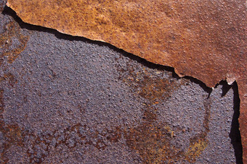 Fondo metal oxidado