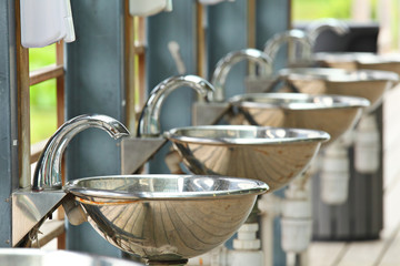 sinks and taps outdoor