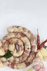 острые колбаски