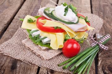 Diät mit Bioprodukten