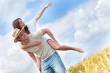 Fototapety happy couple