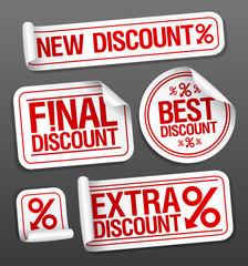 Best discount sale stickers set