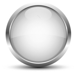 Button Silber Metallic