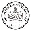 Hoch die Zimmererkunst - Zimmerer ~ Symbol ~ Zeichen ~ Emblem