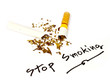 Written stop smoking