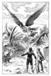 Fantasy : a Flying Man - 19th century