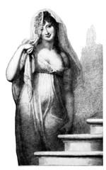 Beautyful Woman - begining 19th - Récamier