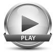 Player Button Silber
