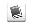 Boton cuadrado blanco simbolo eBook