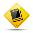 Señal amarilla simbolo eBook