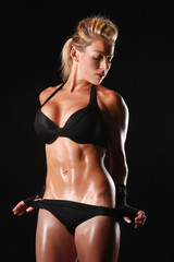 Female Bodybuilder With Beautiful Form