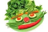 vegetarischer Kinderteller