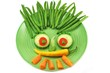 Gesicht aus Gemüse