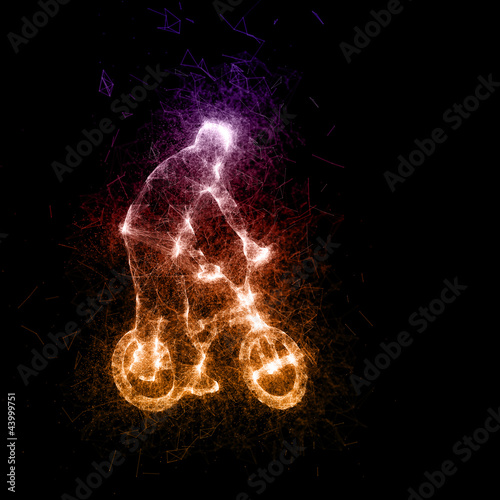Digital BMX- fire