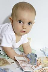 Kinderreichtum-Geldgeschenke