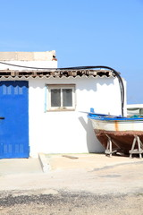 Majanicho village in Fuerteventura Canary islands Spain