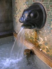 Brunnen an der Strudlhof-Stiege