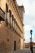 Condes de Gomara palace Soria city Castile Spain