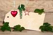 Weihnachten Karte Gutschein