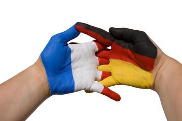 Deutschland und Frankreich in Partnerschaft