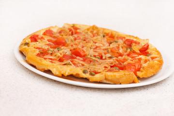 pie with tomato