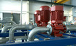 industrial pipelines and pump