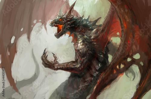 Rage du dragon Poster