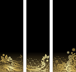 Black and Gold Elements
