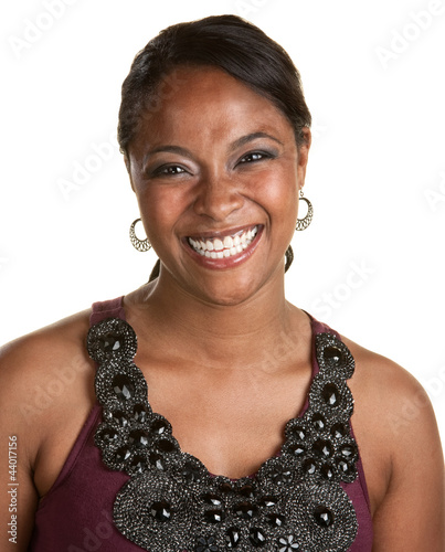 Young Woman with Big Smile