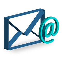 3D Mail Brief Icon