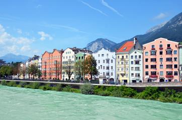 Austria - Innsbruck  fiume  Inn