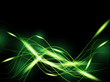 Green neon background