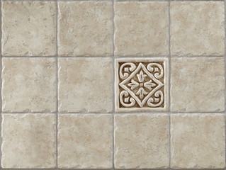 marble decorated background tiles travertin