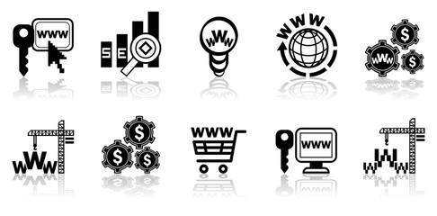 Web-design icon set