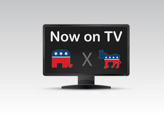 american USA votes now on TV