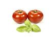 tomates et basilic