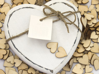 heart with note