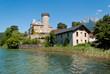 Duingt Castle, Annecy Lake, France