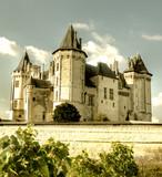 medieval castles of France - Samur