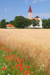 Puha church, Saaremaa island, Estonia