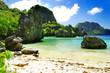 amazing nature of Philippines - El nido, cadlao lagoon