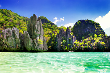 beautiful nature of Philippines - El nido